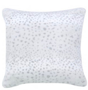 Grey Leopard Pattern Cushion