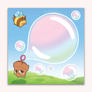 Bubble Memo Pad