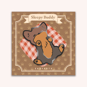 Sleepy Buddy Enamel Pin