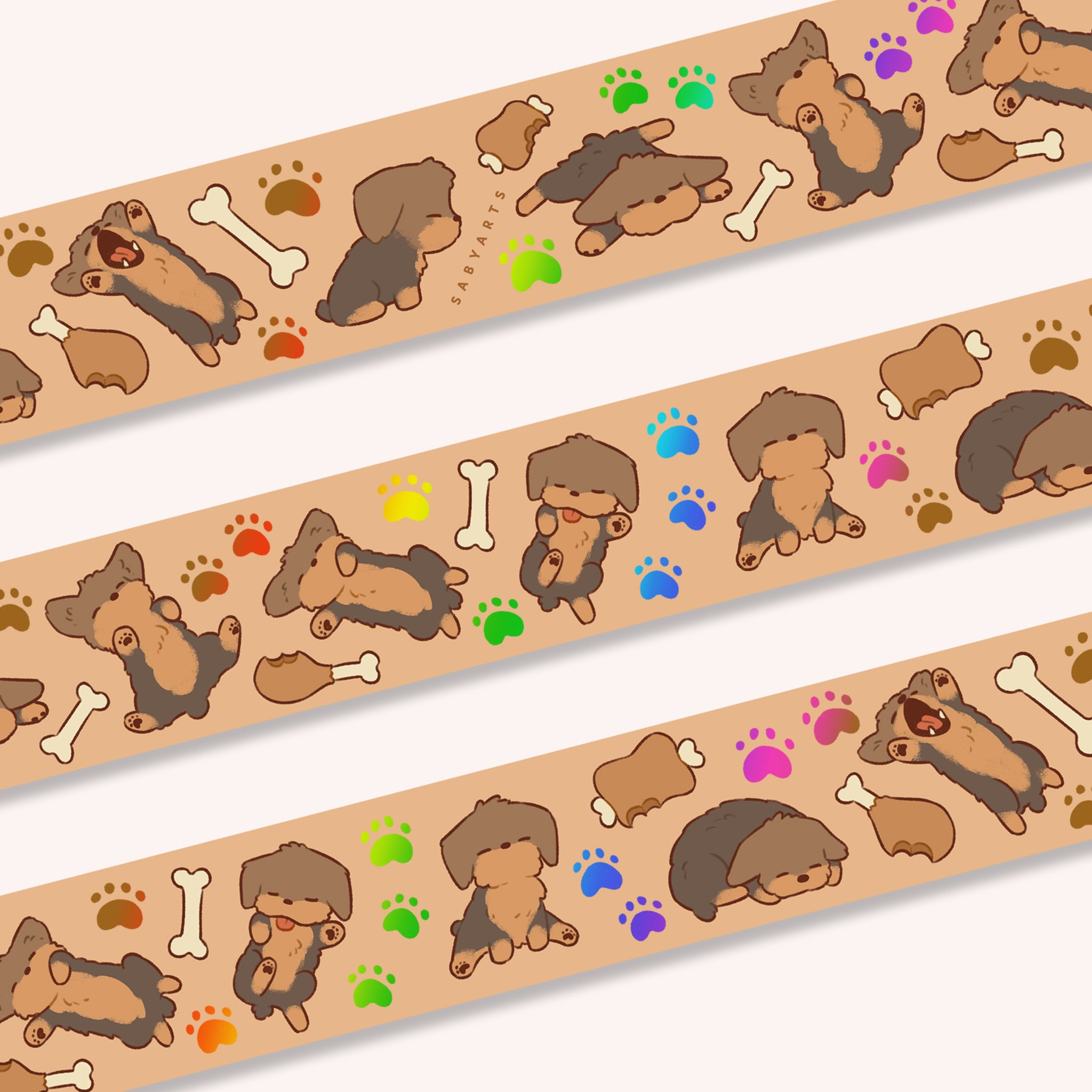 Sleepy Buddy Washi Tape