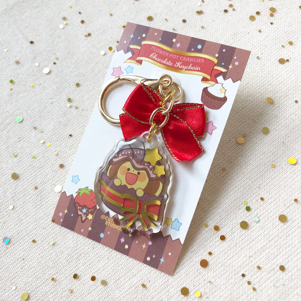 Chocolate Crawlies Keychain