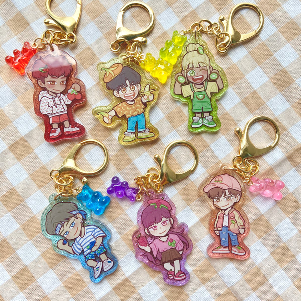 Fruity Pot Crew Keychain