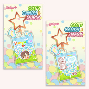 GOT7 Youngjae Candy & Snack Keychain