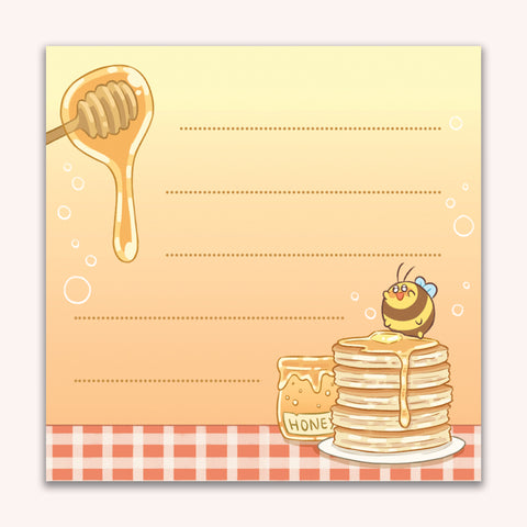 Honey Memo Pad