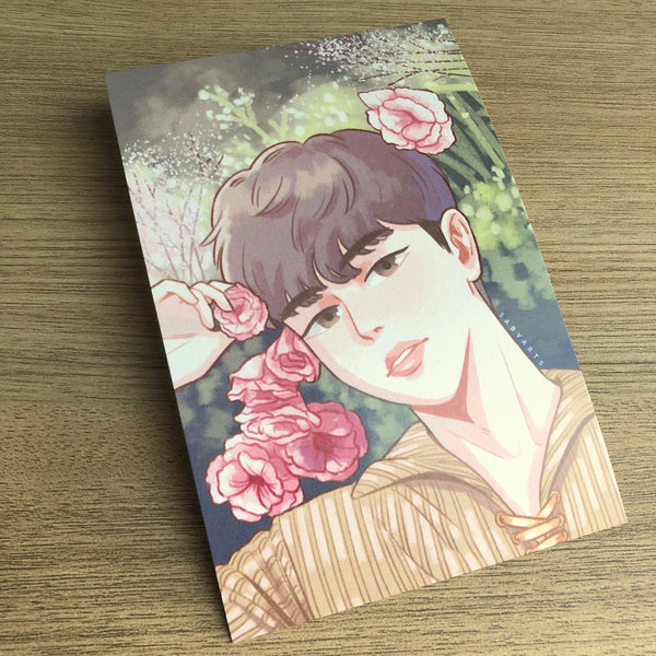 Jinyoung Miracle Square Postcard