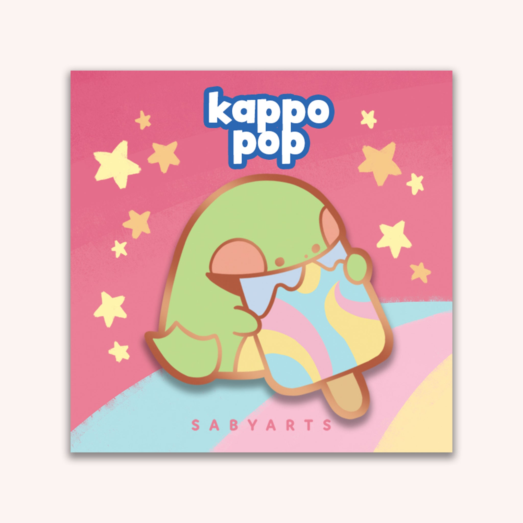 Kappo Pop Enamel Pin