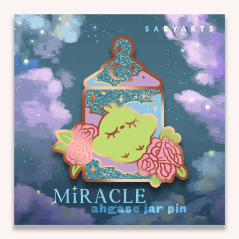 Miracle Ahgase Jar Pin