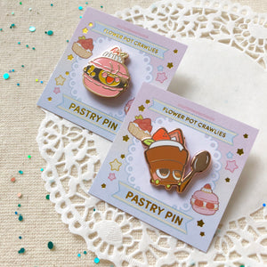 Pastry Crawlies Enamel Pin