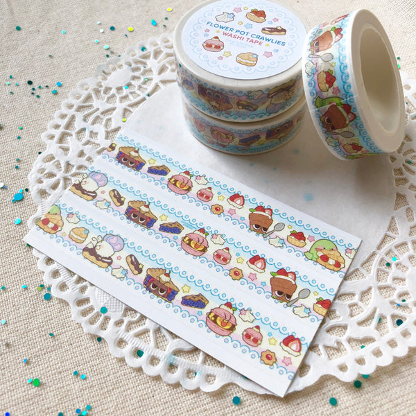 Pastry Crawlies Washi Tape