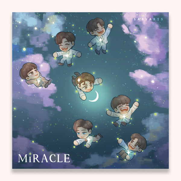 GOT7 Miracle Square Postcard