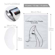 Load image into Gallery viewer, Eyelash Pad Gel Under Eye Patches For Eyelash Extension Makeup Tools