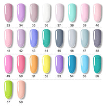 Load image into Gallery viewer, ROSALIND Gel Polish Set All For Manicure Semi Permanent Vernis top coat UV LED Gel Varnish Soak Off Nail Art Gel Nail Polish