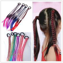 Load image into Gallery viewer, Elastic Hair Band Rubber Accessories Ponytail Headband Braid Rope Hair Braider