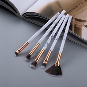 15Pcs Makeup Brushes Tool Set Cosmetic Eye Shadow Foundation Blush Blending Beauty Make Up Brush