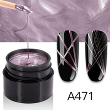 Load image into Gallery viewer, Spider Line For Nails Art Gel Polish Colors Painting Lacquer Web Gel Polish