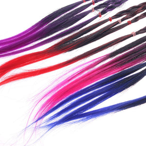 Elastic Hair Band Rubber Accessories Ponytail Headband Braid Rope Hair Braider