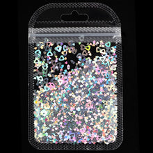 Load image into Gallery viewer, Holographic Butterfly Heart Nail Art Glitter Star Flakes Sequins Polish Manicure Nail Decoration