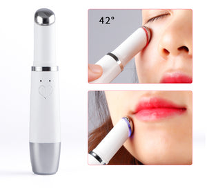 Mini Ultrasonic Eye Lip Facial Massage Skin Care Pen Beauty Light Pen