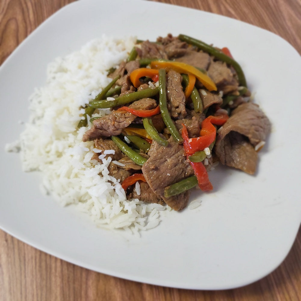 Bell Pepper Beef Stir Fry