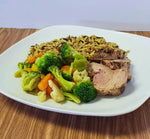 Dijon Pork with Wild Rice