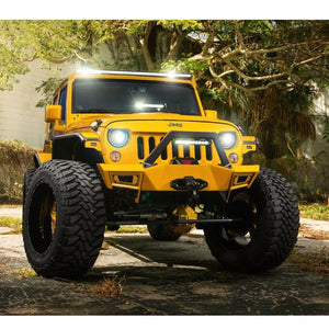 200W Combo Spot/Flood Single Row Light Bar, 41 Inch