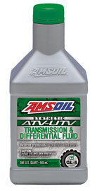 AMSOIL SYNTHETIC ATV/UTV TRANSMISSION & DIFFERENTIAL FLUID