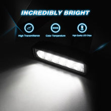 Nilight 18W Spot LED Pods 2 Piece Set