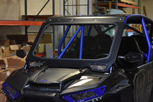 MOTO ARMOR FULL GLASS WINDSHIELD FOR CAGEWRX SUPER SHORTY CAGE ON RZR 900, 1000, TURBO