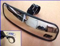 "EMP 13"" Wide Panoramic Rear view Mirror for 1-3/4""-1-7/8"" Round Cages"