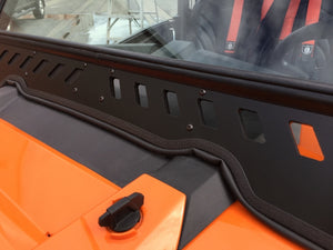 MOTO ARMOR POLARIS RZR FULL GLASS WINDSHIELD WITH VENTS
