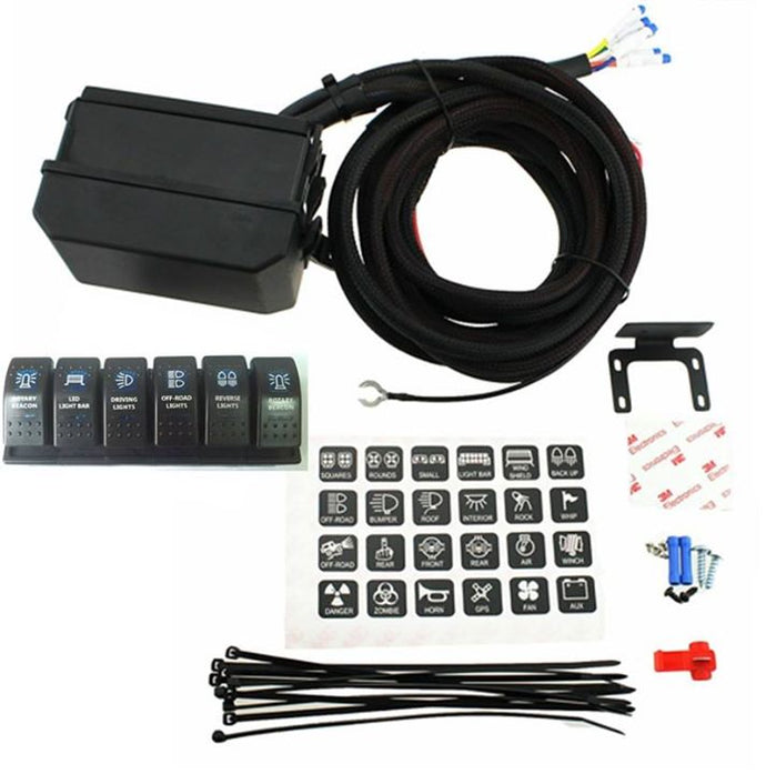 Infinite Offroad Power Control Module - 6 Rocker Switch