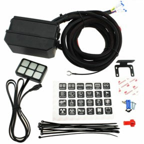 Infinite Offroad Power Control Module - 6 Push Button Panel