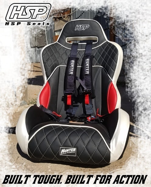 Hunter Safety Products Rage Seat for Polaris RZR or Can-Am