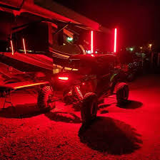 Infinite Offroad RGB HELIX Whips - Runs Off Rock Light Controller