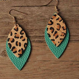 Love Leopard & Leather Earring