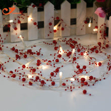 Load image into Gallery viewer, 20 LED Red Beads String Light
