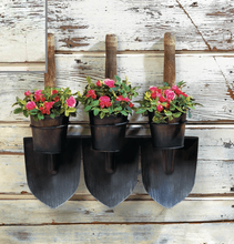 Load image into Gallery viewer, 3 Shovels Wall Planters