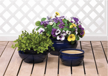 Load image into Gallery viewer, Ocean Blue Planter Trio