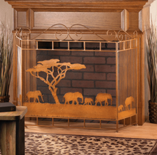 Load image into Gallery viewer, Wild Savannah Fireplace Screen