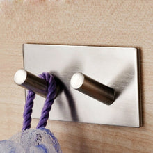 Load image into Gallery viewer, Stainless Steel Self Adhesive Towel Hanger