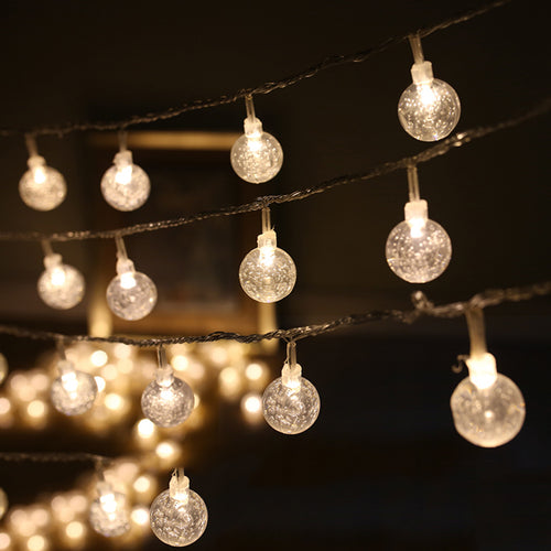 4M 40 pcs LED Round Transparent Ball