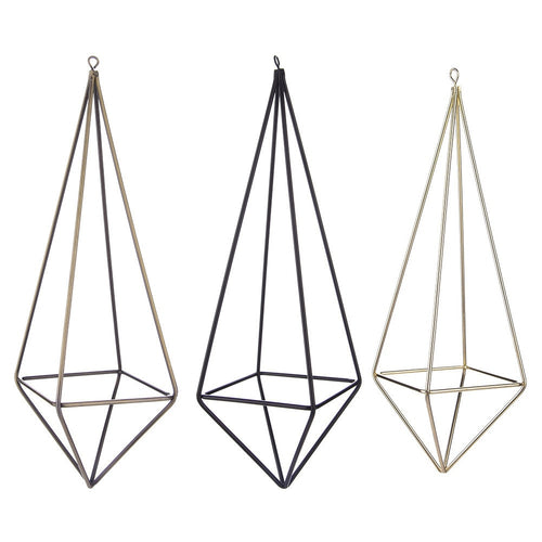 2 PCS Triangle Flower Holder  Four-side Frame