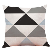 Load image into Gallery viewer, Geometric Cushion Sofa Throw