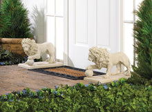 Load image into Gallery viewer, Regal Outdoor Lion Statues