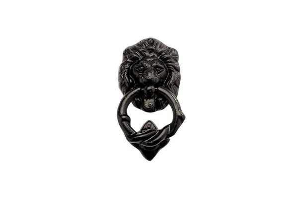 "Iron Series 7"" Lion Head Door Knocker Kit"