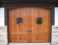 "Rustic Series 13"" x 14"" Custom Window Grill for Carriage House Doors"