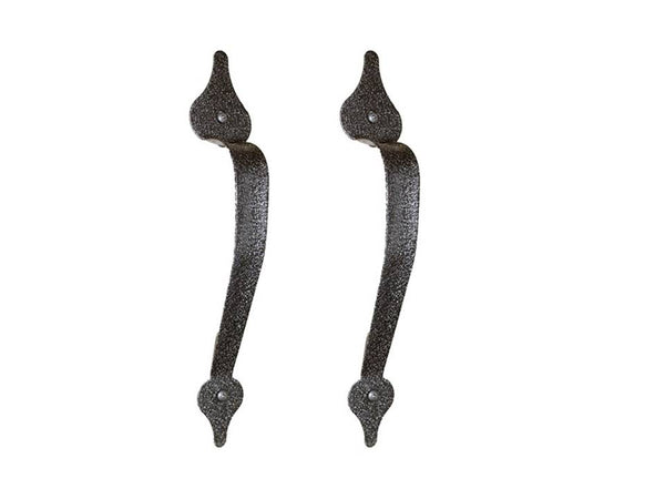 "Americana Series 11-1/4"" Spear End Garage Door Pull Handle Set"