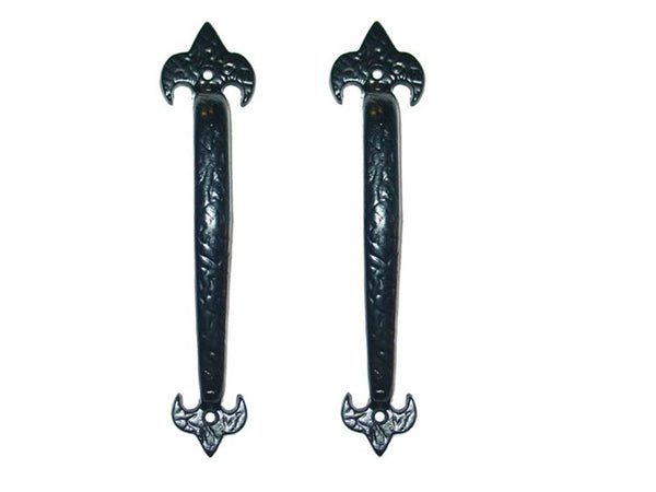 "Iron Series 10"" Decorative Pull Handles LIS Style set of two"