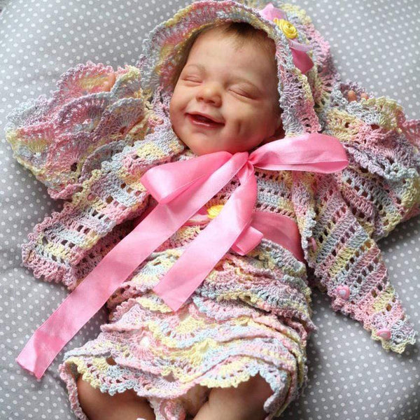 reborndollsshop 22'' Cloth Body Reborn Dolls 22'' Lovely Melissa Reborn Baby Doll - Great for Role Playing