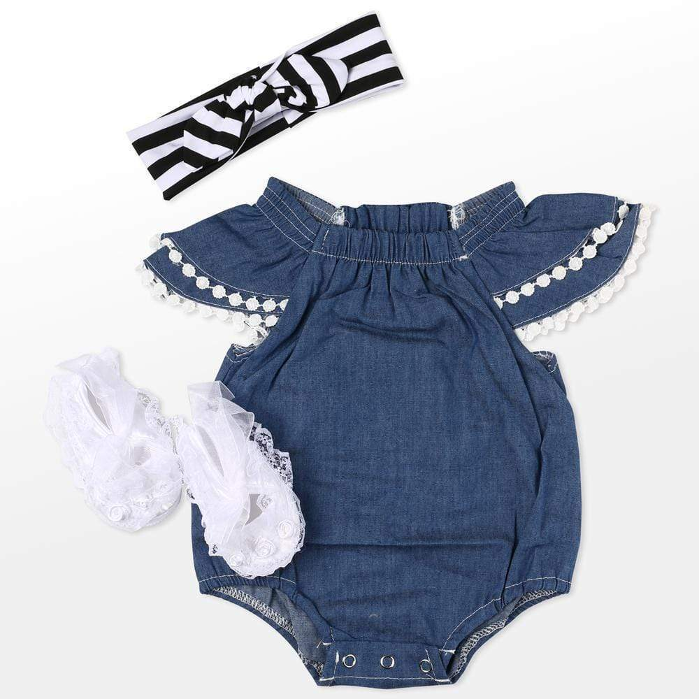 "reborndollsshop baby clothing Reborn Dolls Baby Clothes Blue Outfits for 20""- 22"" Reborn Doll Girl Baby Clothing sets"